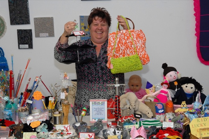 Mum of three turns waste into useful gifts 673